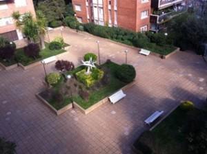 El jardí de baix