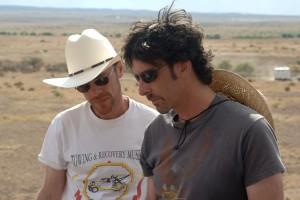 Ethan i Joel Coen al rodatge C Paramount Pictures