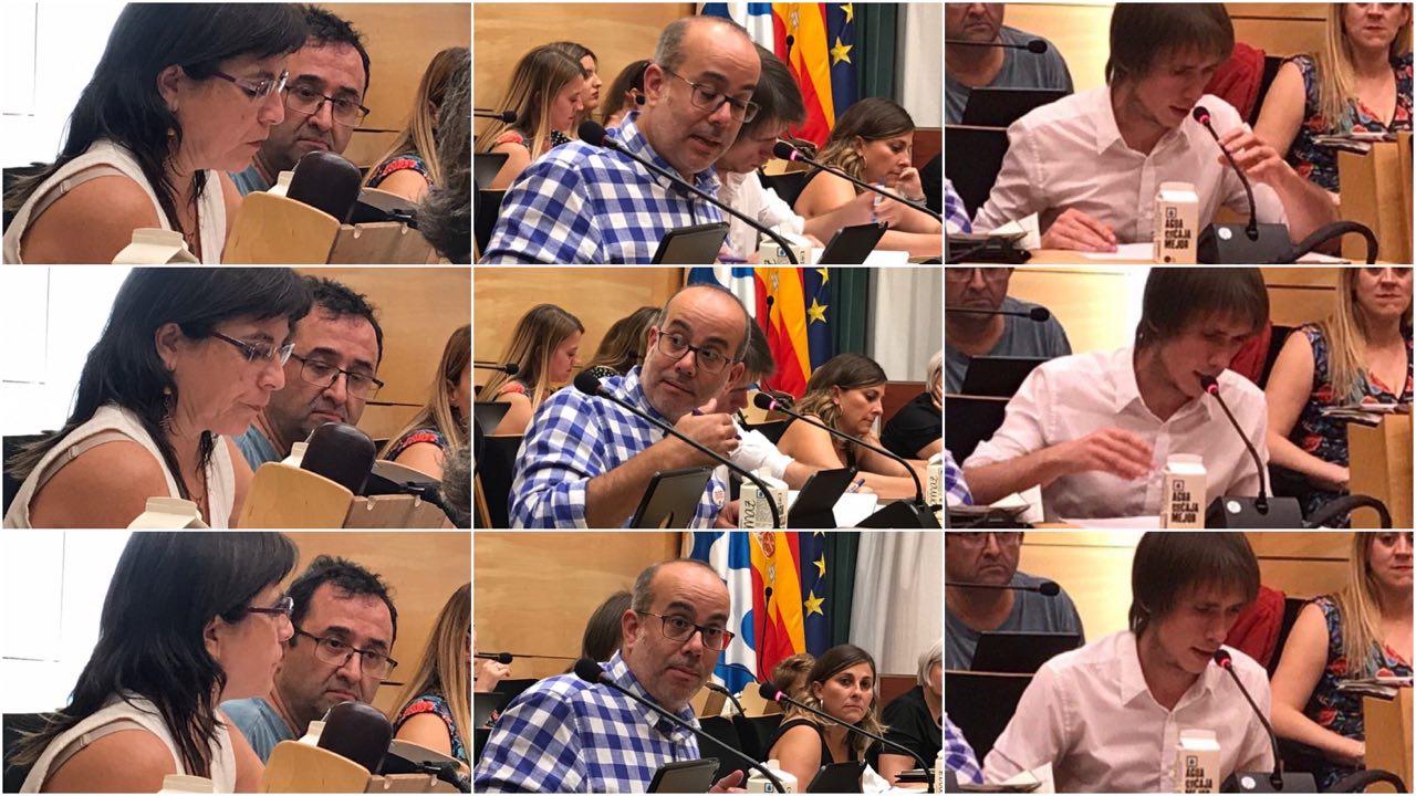 Lara, Lladó i Montornès, els tres regidors d'ERC - Avancem MES a Badalona.
