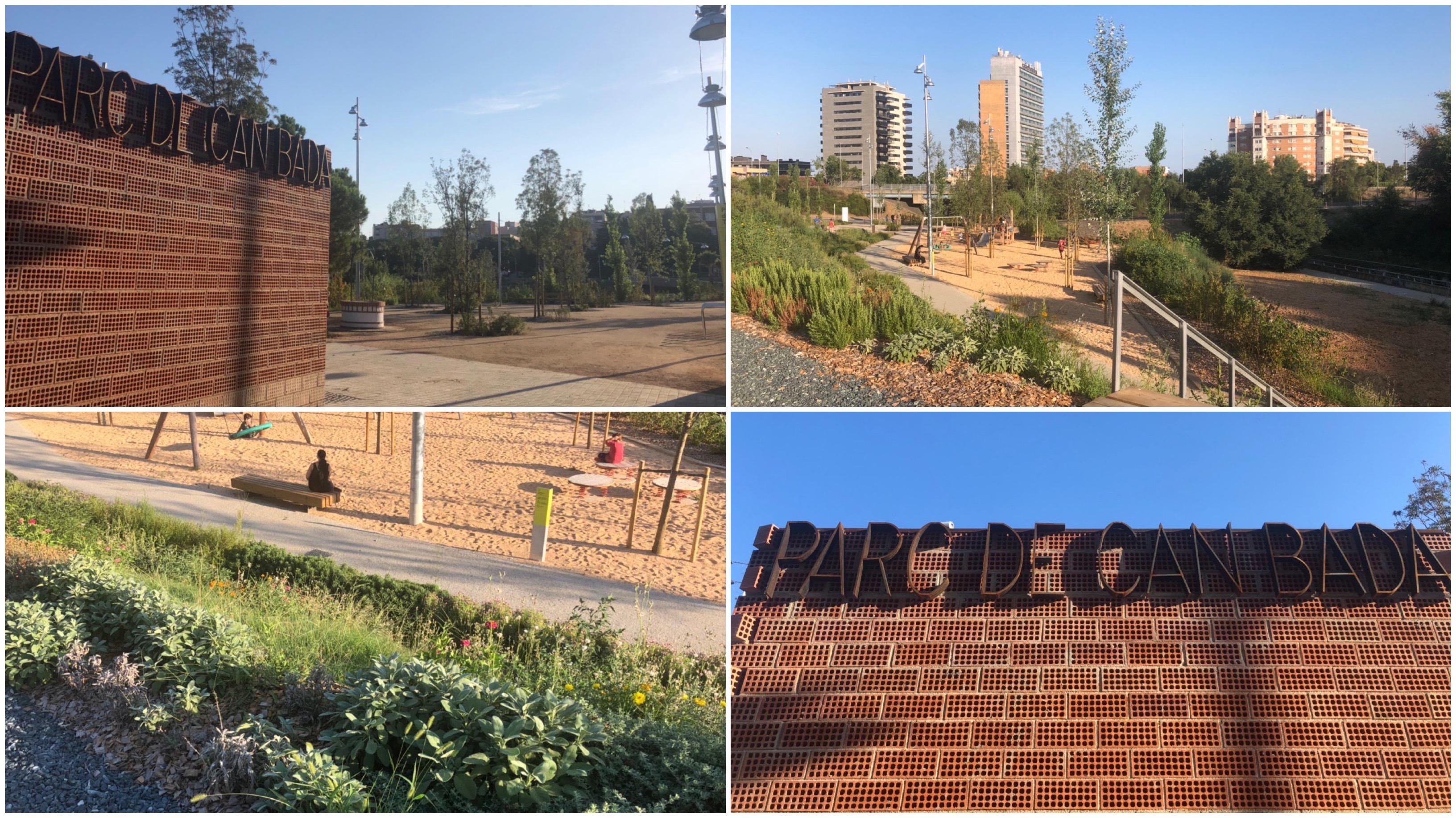 Ja és una realitat el parc de Can Bada, una de les obres estratègiques clau del nostre govern. Connectivitat, renaturalització, participació ciutadana. Estem molt contents, finalment!