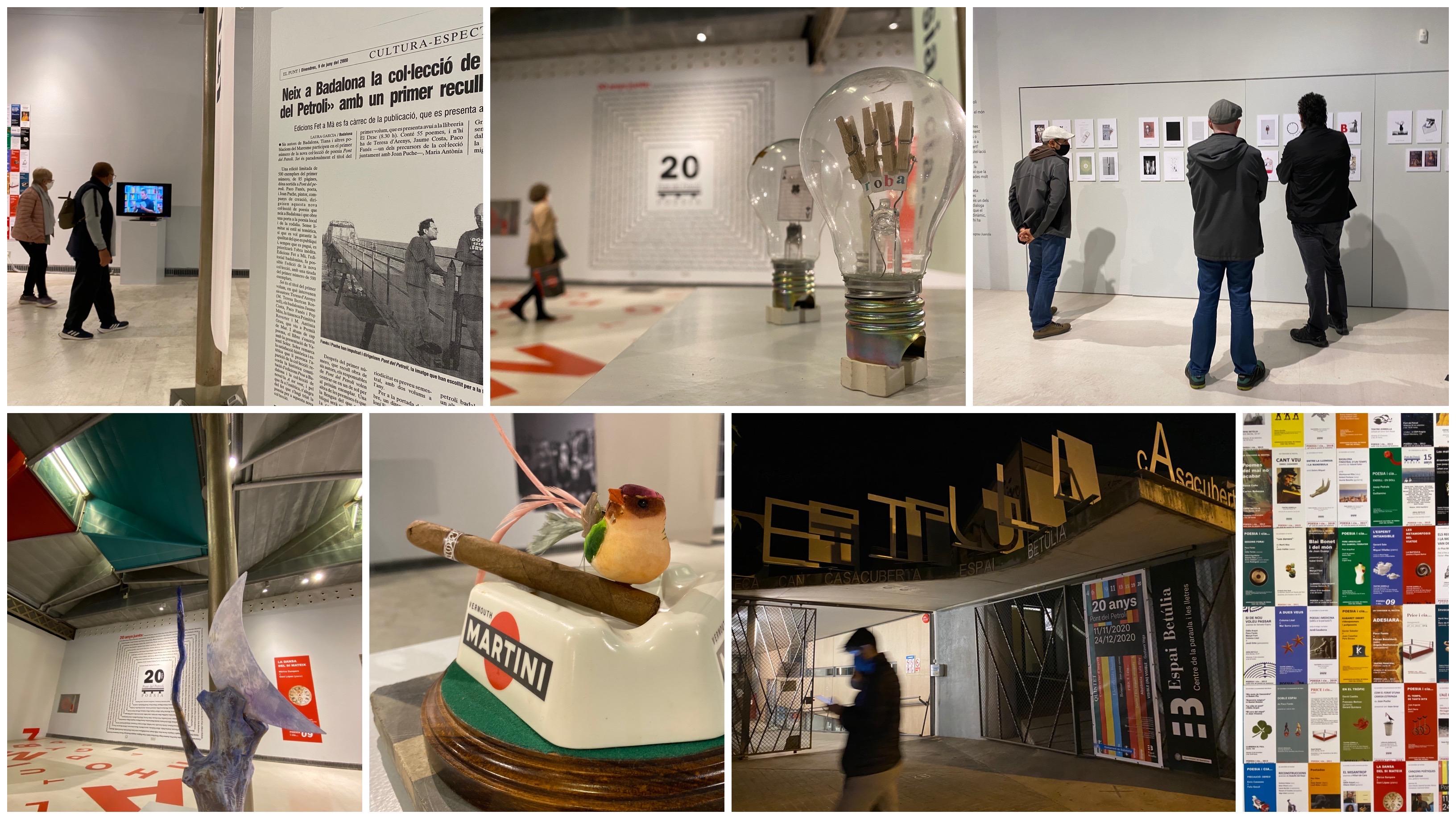 Exposició 20 anys Pont del Petroli / Badalona / novembre 2020