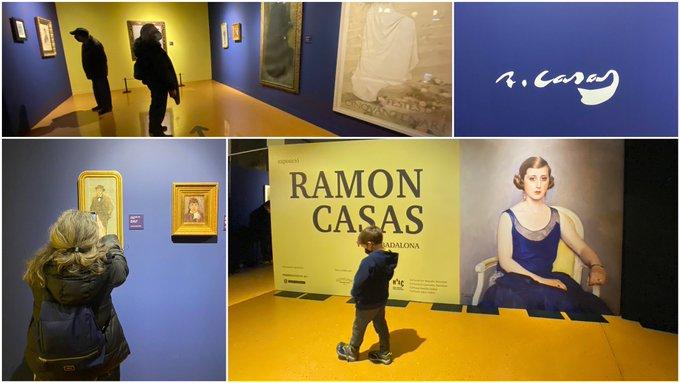 L'exposició dedicada a Ramon Casas al Museu de Badalona és una oportunitat única per conèixer un gran artista i la seva relació amb #Badalona. Val molt la pena! Es pot veure des d'aquest dijous i fins passat festes.