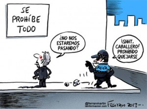 Ley de Seguridad Ciudadana...