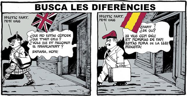 Resultat d'imatges de votar catalunya comic