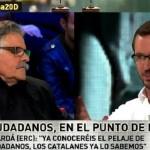 Joan Tardà frente a Javier Maroto en LA SEXTA NOCHE