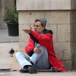 Rajoy el mendigo