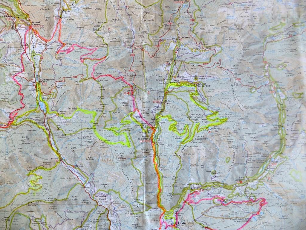mapa segona etapa