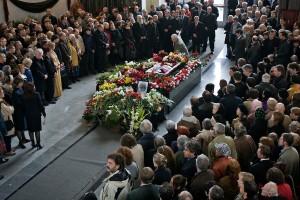 Anna Politkovskaya Funeral