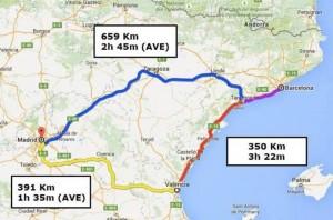 tiempos-de-viaje-y-distancia-en-el-triangulo-barcelona-valencia-madrid-josepboira