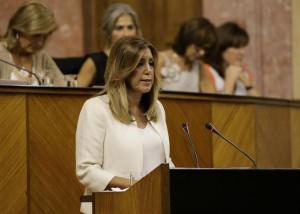 Susana Díaz, presidenta d'Andalusia