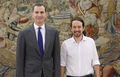 Iglesias i Felipe VI