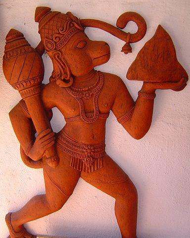384px-Hanuman_in_Terra_Cotta