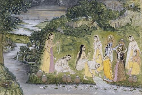 640px-Indian_-_Flirtation_on_the_Riverbank_-_Walters_W860 - 2a Còpia (2)