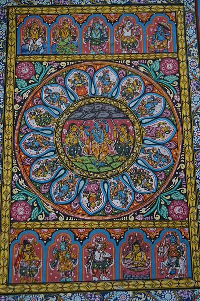 The_painting_by_an_artist_from_Raghurajpur
