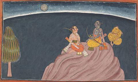 Rama i Lakshman. Una conversa crucial... i profitosa!