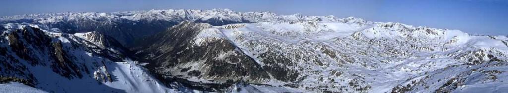 Vall de Madriu vista des de la Tossa Plana de Lles