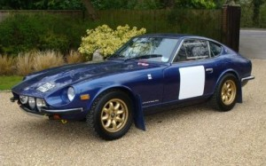 1973_Datsin_240Z_UK_Historic_Rally_Car_Front_1
