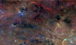 Asteroid Vesta Dawn