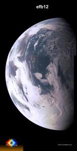 La Terra desde Juno