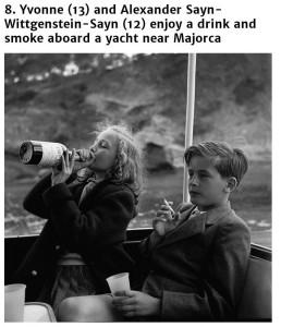 Yvonne i Alexander, 1955