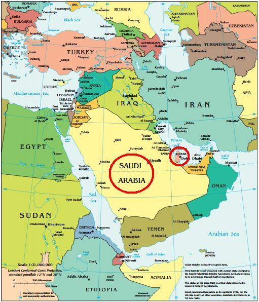 Món àrab Pròxim Orient golf Pèrsic islam islàmic musulmans Alcorà Síria Iraq Qatar Aràbia Saudita Doha Riad