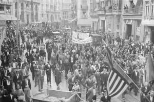 Processó_Cívica_-_9_d'octubre_de_1933