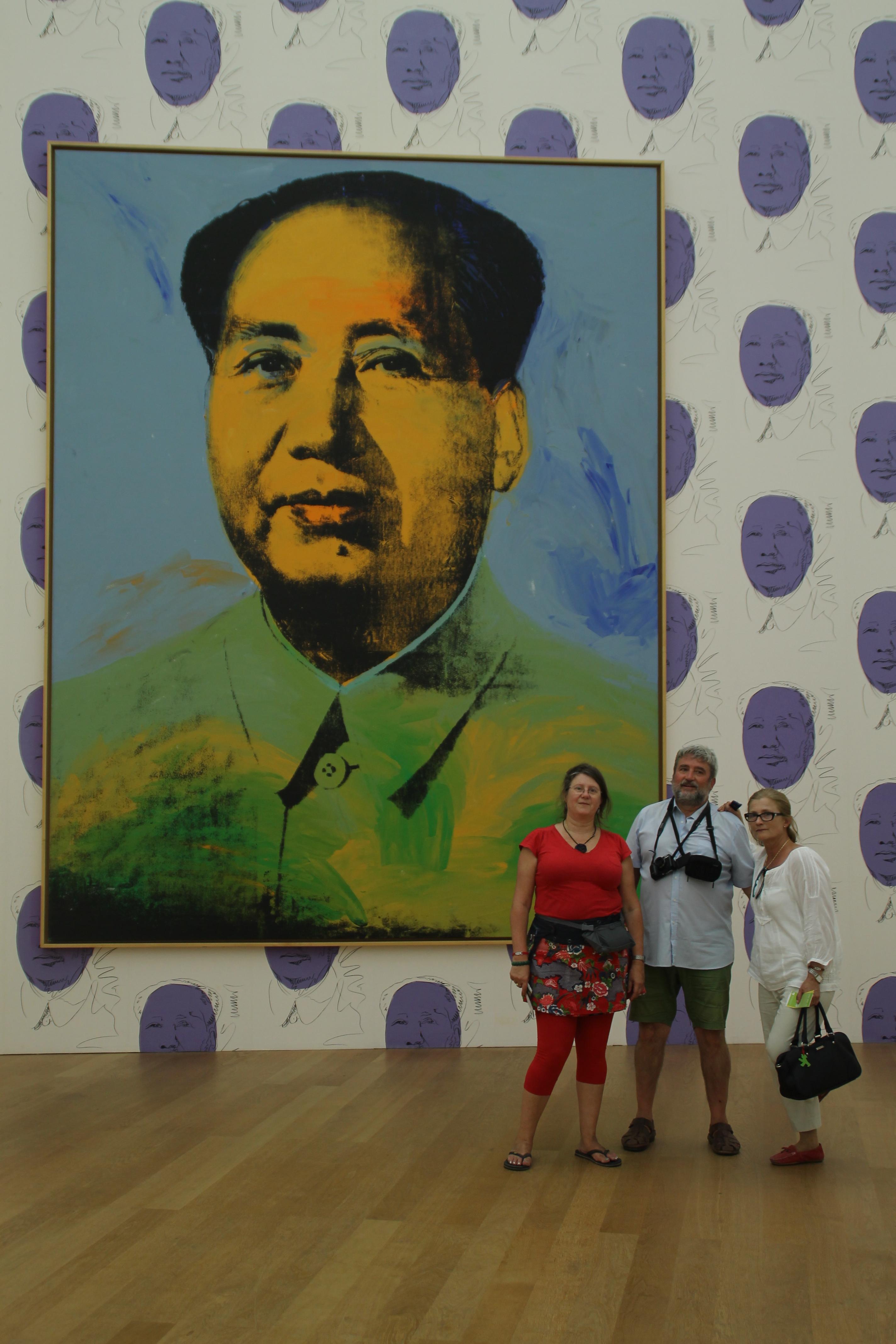 Mao per Warhol al  Hamburger Bahnhof.