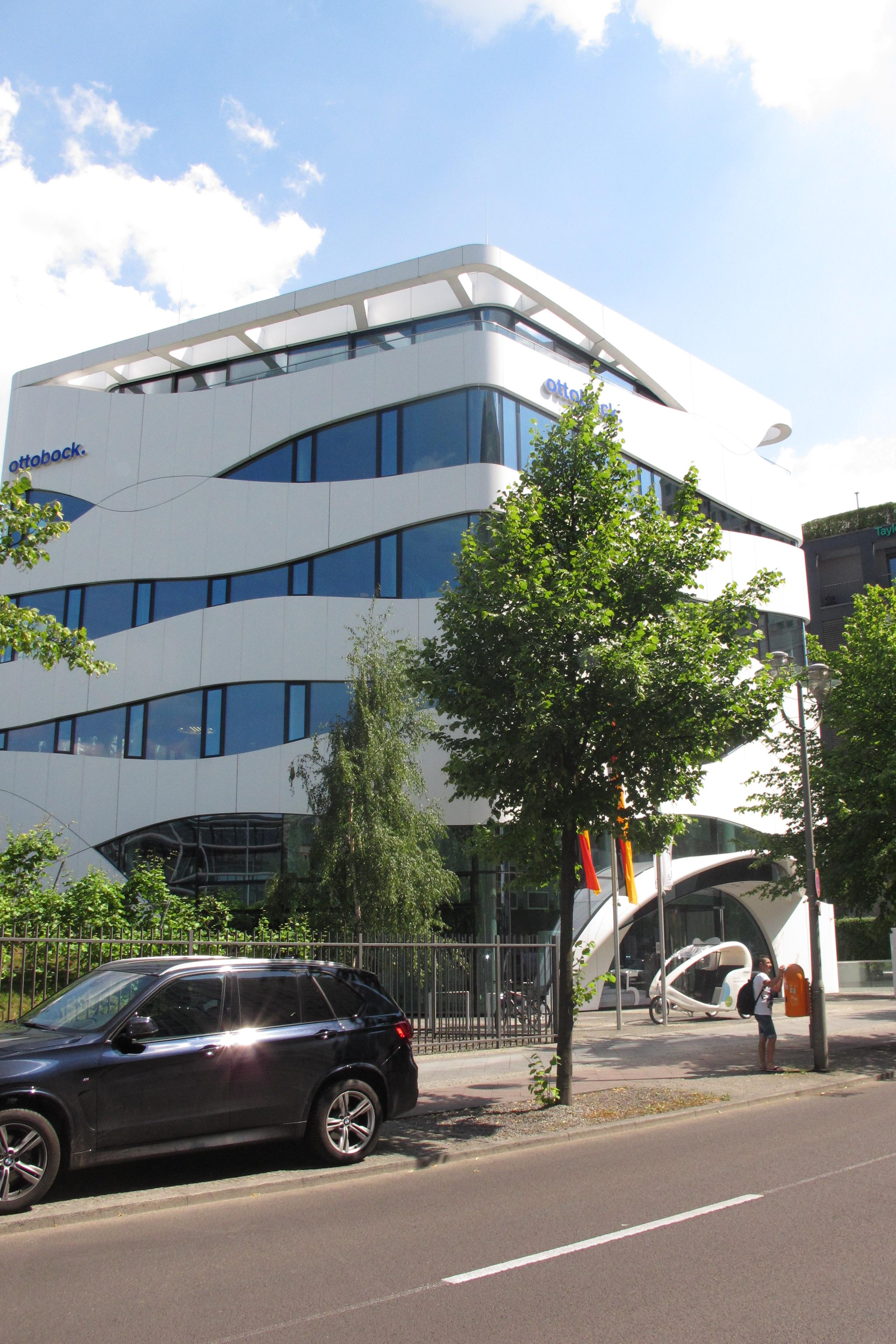 Science Center Medizintechnik, vista general.
