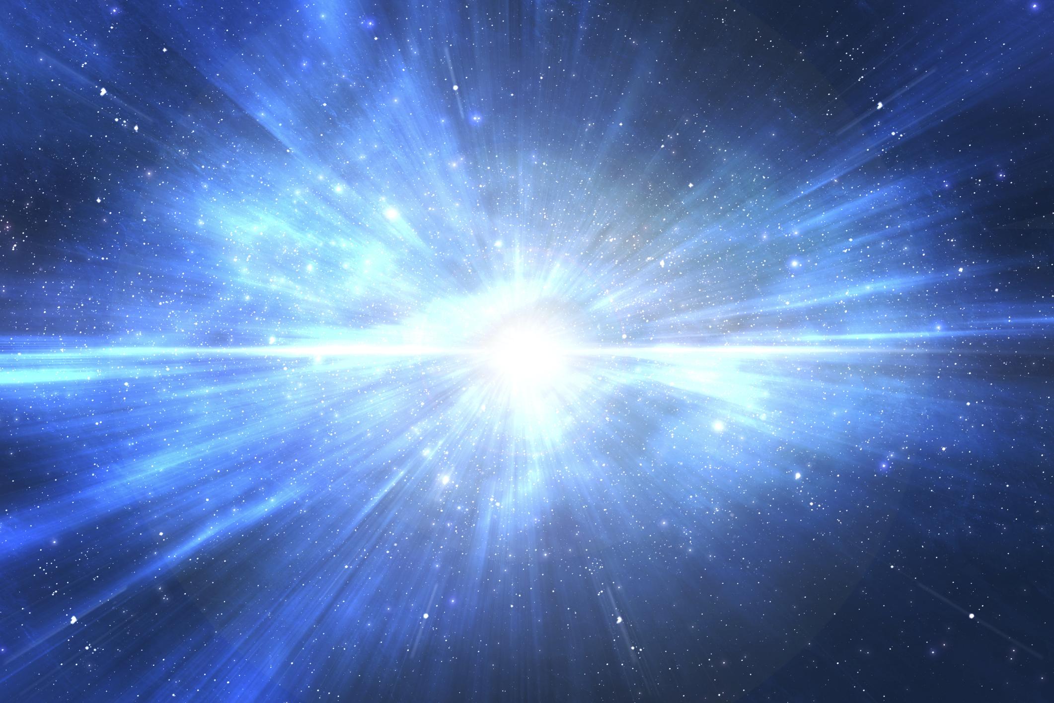 Big-Bang, la gran explosió origen de tot. Però va ser el final d'alguna cosa?
