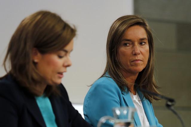 Soraya i Mato, símbols de la decadència espanyola personificada.