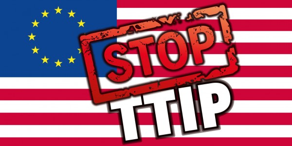 Convocatòria per una campanya contra els tractats TTIP, CETA i TiSA a Castelló.