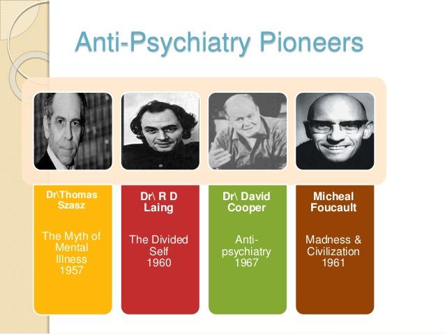Pioners de la psiquiatria antisistema, la societat és la malalta.