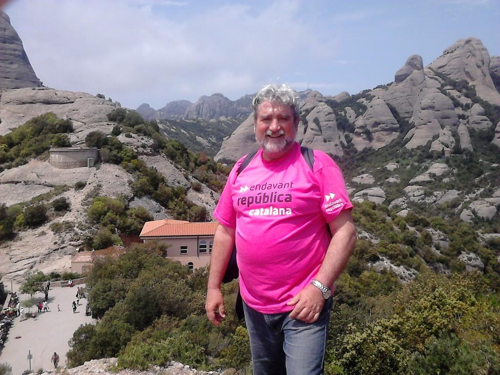 Respirant l'aire pur de Montserrat