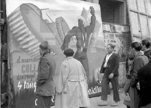 "Cartell a Madrid en record del ""Marinero Coll"""
