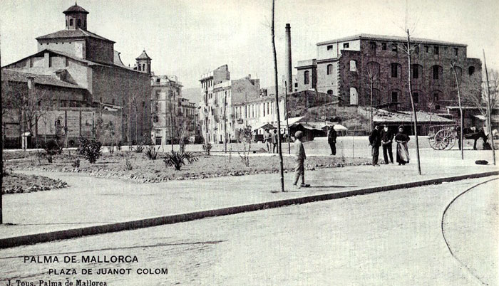 Plaça de Joanot Colom a Palma