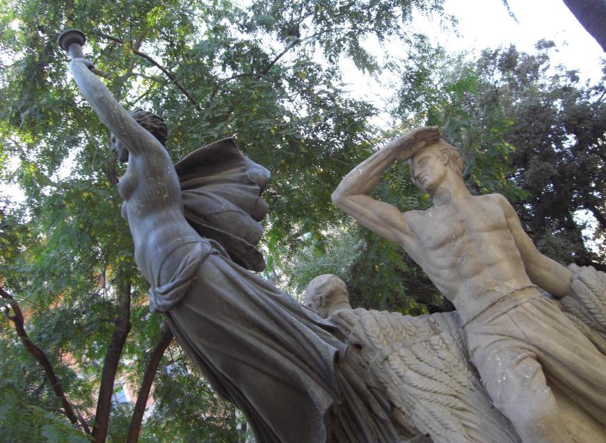 Monument a Layret a Barcelona