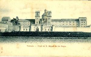 Postal de la presó de Sant Miquel dels Reis