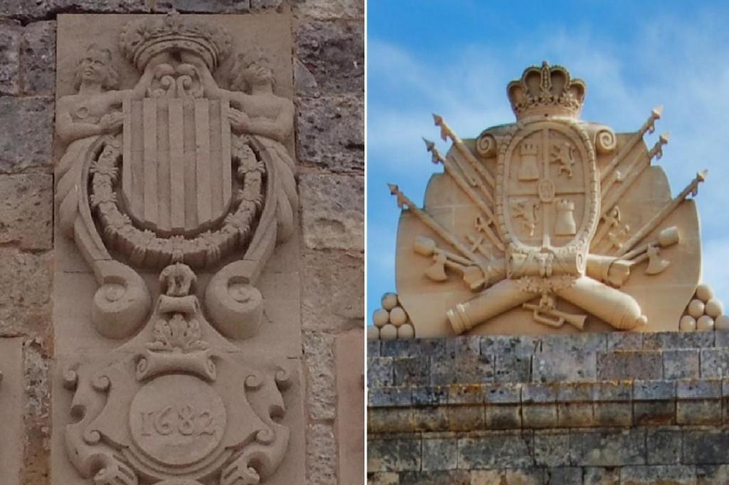 El Castell de Sant Nicolau de Ciutadella i la Mola de Maó