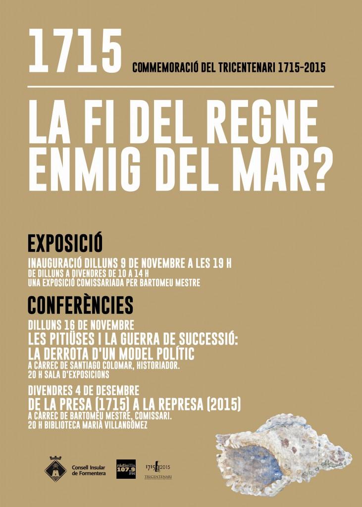 Cartell de l'exposició a Formentera