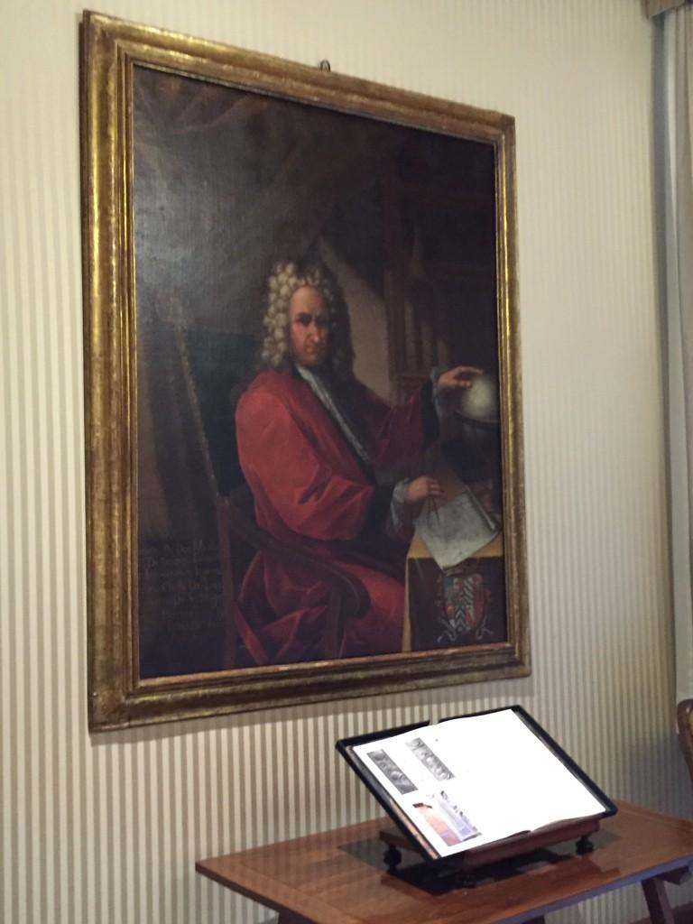 Gainza, a la sala de les recepcions de Presidència