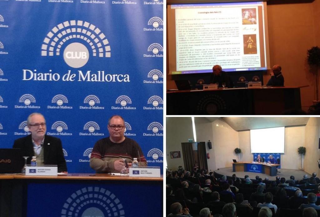 Antoni I Alomar, Antoni Mas, Joan Miralles, Damià Ferrà-Ponç, Cristòfol Soler i Josep Melià