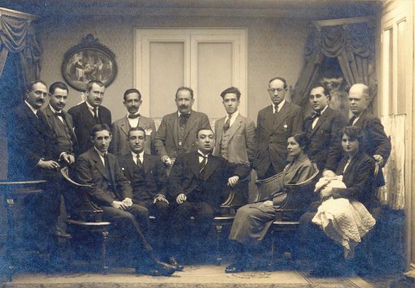 1918b-Seguí, Pestaña, Buenacasa y Bajatierra en Madrid