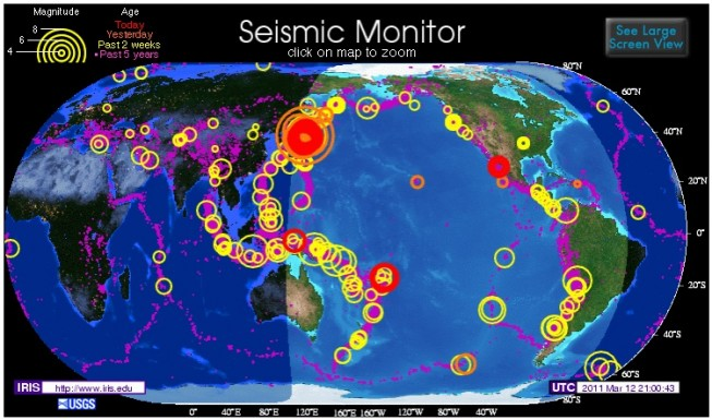Terratrèmol en directe