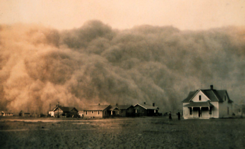 Dust-storm-Texas-1935s
