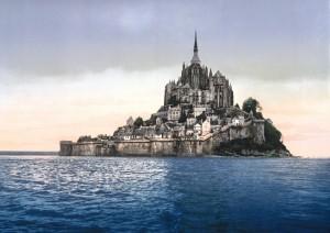 France-Mont-Saint-Michel-1900s