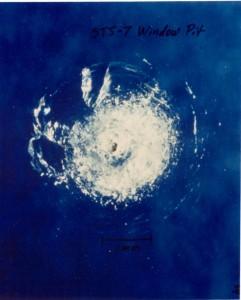 800px-Space_debris_impact_on_Space_Shuttle_window
