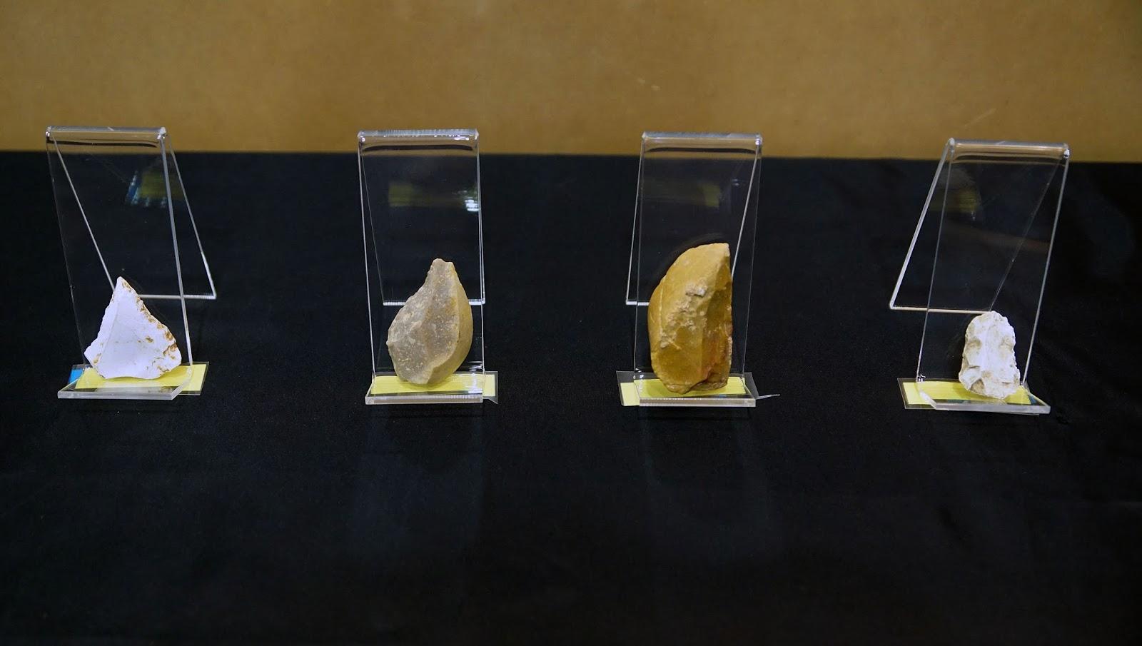 Altres estris lítics exposats exhumats enguany