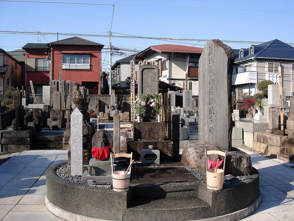 Cementiri de barri, a tocar de les cases.