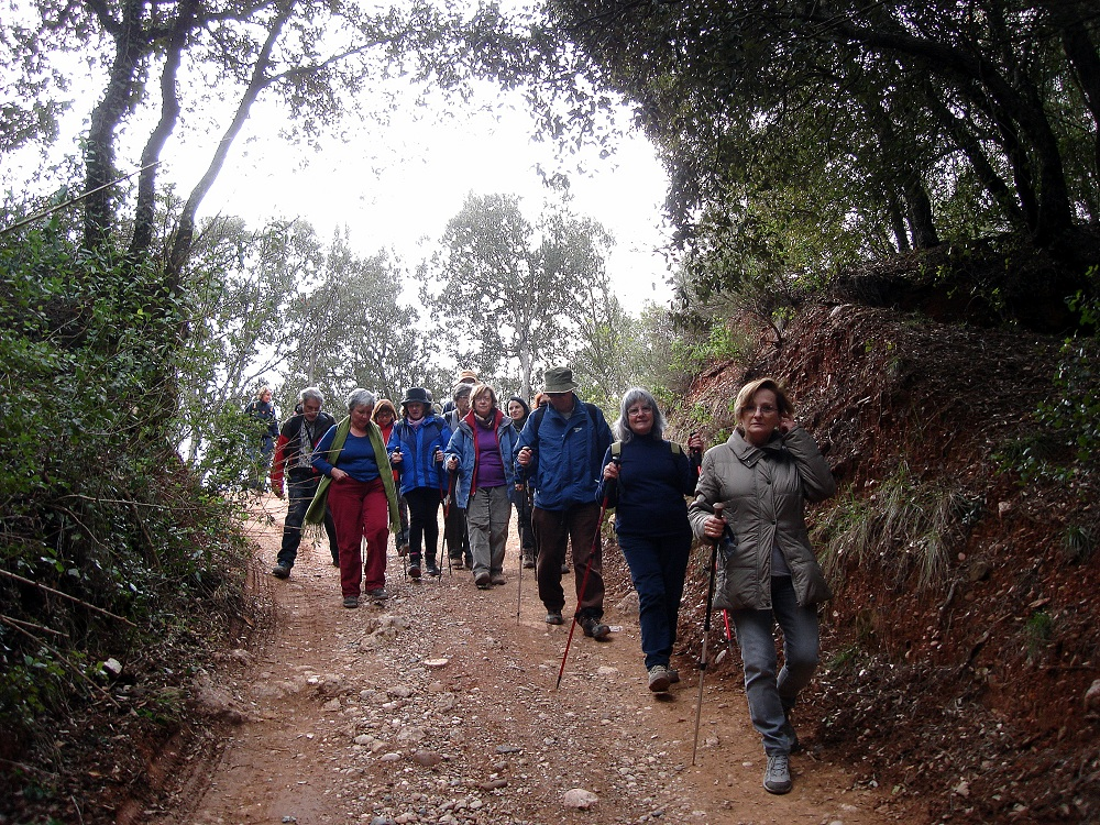 Enfilem el camí cap al Puig de la Balma