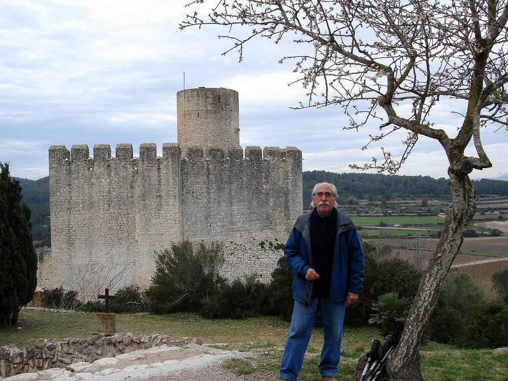 Abans de començar la ruta amb el castell a la meva esquena